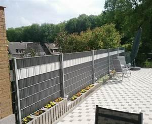 Sichtschutz Garten Grau : sichtschutz lamellen grau kollektion ideen garten design als inspiration mit beispielen von ~ Sanjose-hotels-ca.com Haus und Dekorationen