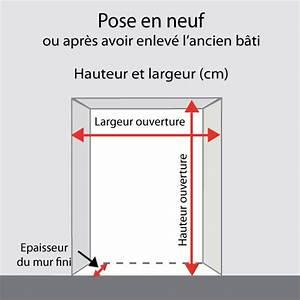 Poser Bloc Porte Entre 2 Murs : prendre les mesures d une porte int rieure porte ~ Dailycaller-alerts.com Idées de Décoration