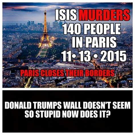 Paris Meme - meme why we need to start listening to trump