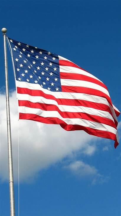 Flag Usa Cool American Android Sky