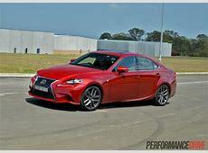 2014 Lexus IS 350 F Sport review video PerformanceDrive