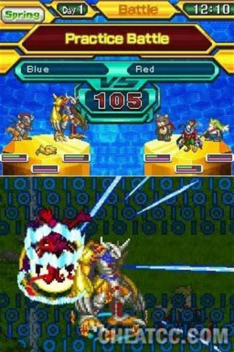 digimon world championship review   nintendo ds nds
