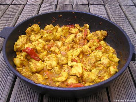 cuisine poulet au curry poulet au curry