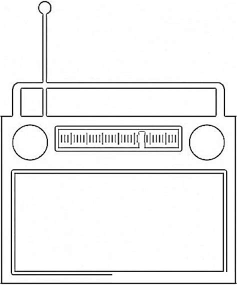 una radio para dibujar imagui