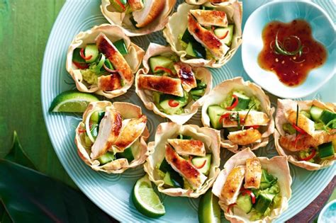 easy canapes to in advance finger food recipes collection taste com au