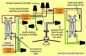 Wiring Diagram  Fan  Light Kit And 3