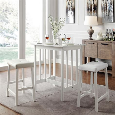 white kitchen furniture sets oxford creek counter height dining set in white home