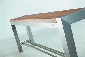 Hochtisch Küche : hochbank f r bartisch hochtisch aluminium buche massiv design ~ Pilothousefishingboats.com Haus und Dekorationen