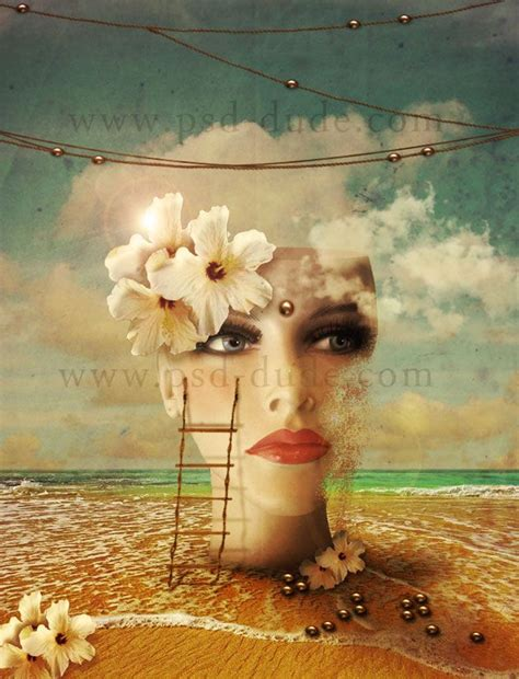 create  surreal beach photo manipulation  photosho
