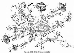 Poulan Pp751hw Mower Parts Diagram For Mower Assembly