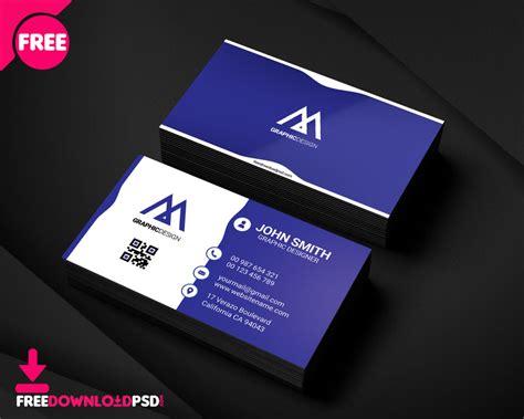 graphic designer business card freedownloadpsdcom