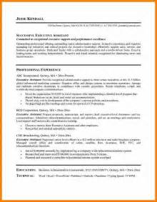 resumes for top executives 9 best executive assistant resume
