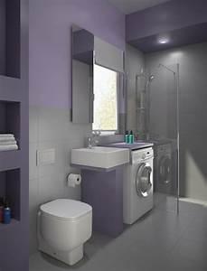 Kleines Badezimmer Einrichten : kleines bad ideen platzsparende badm bel und viele ~ Michelbontemps.com Haus und Dekorationen