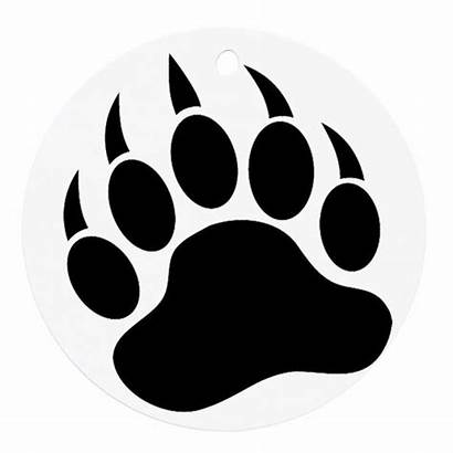 Bear Paw Round Clipart Ornament Clipartbest Sides