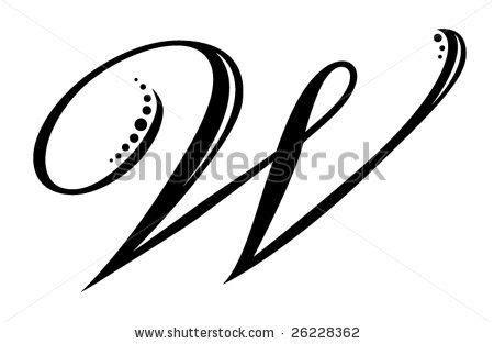 letter  script  jackie stukey  shutterstock tattoo fonts cursive initial tattoo