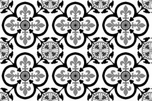 Adhesif Imitation Carreaux De Ciment : cr dence adh sive carreaux de ciment garance noir ~ Melissatoandfro.com Idées de Décoration