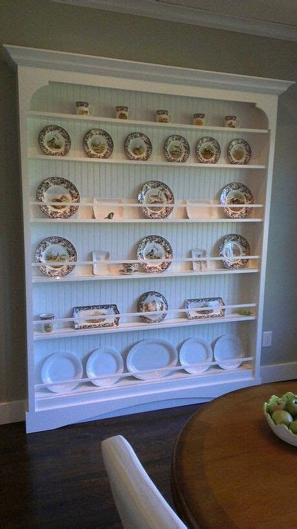 wooden wall plate rack designs  small kitchen plate rack wall trendy farmhouse kitchen