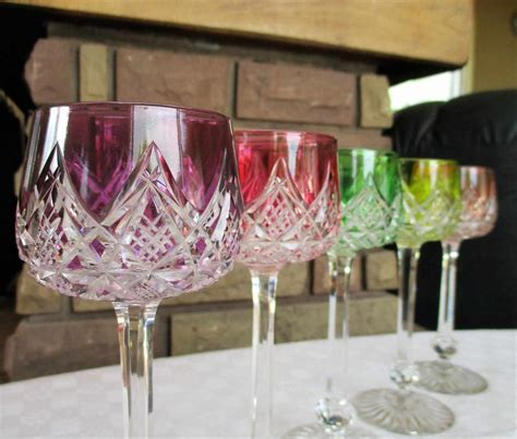 verre en cristal verres en cristal de baccarat service colbert