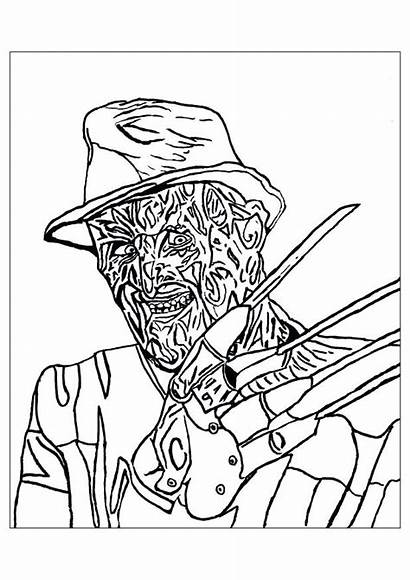 Myers Michael Coloring Pages Printable Sheets Getcolorings