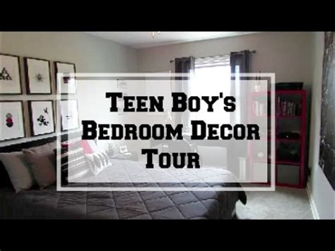 teen boys bedroom decor  youtube