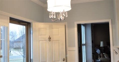 wall color is light french gray ceiling is reflecting