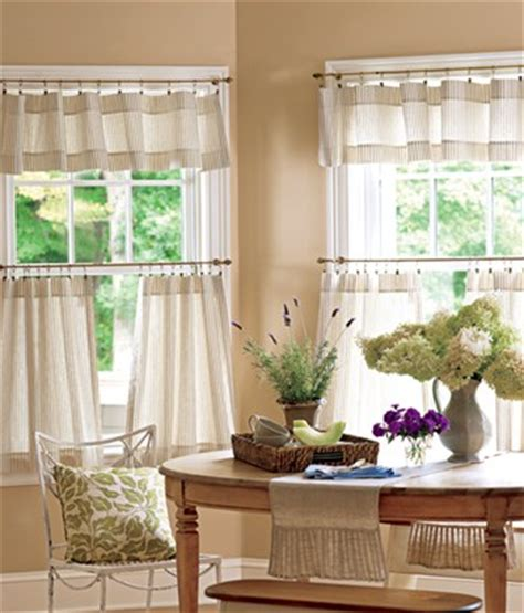 Ideas For Making Country Kitchen Curtains  Creative Home