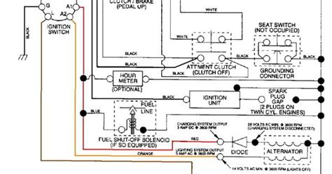 Craftsman Lt4000 Wiring Diagram by Craftsman Mower Electrical Diagram Wiring Diagram