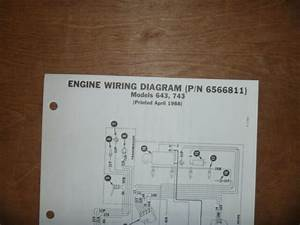 Bobcat 643 743 Skid Steer Engine Electrical Wiring Diagram