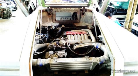 mesin mitsubishi galant vr  twin turbo replika