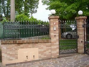 Ringhiere modulari in ferro battuto recinzioni modulari