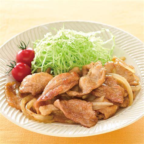 豚 生姜 焼き レシピ