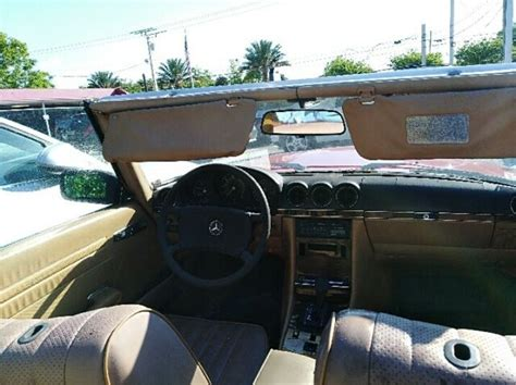 The 380sl and 500sl have essentially the same body, drive train, interior cabin, and amenities. 1983 Mercedes 380SL FOR PARTS AS IS - Classic 1983 Mercedes-Benz SL-Class