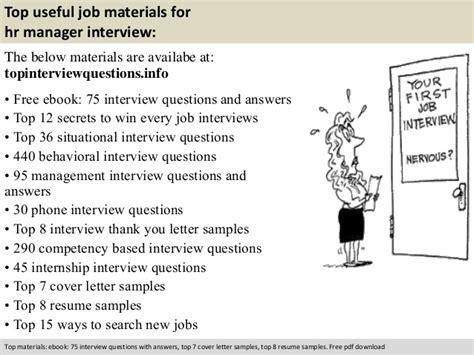 Hr Manager Questions by Hr Manager Questions