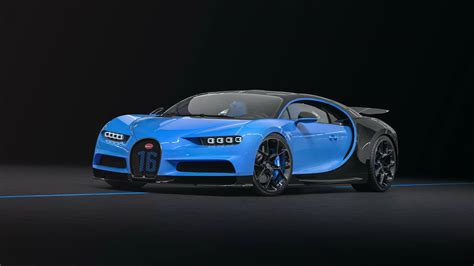 1909 was a long time ago. Bugatti Chiron Sport Blue- 7124