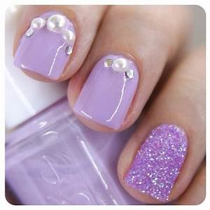 Light purple nails, Nails and Nail summer on Pinterest