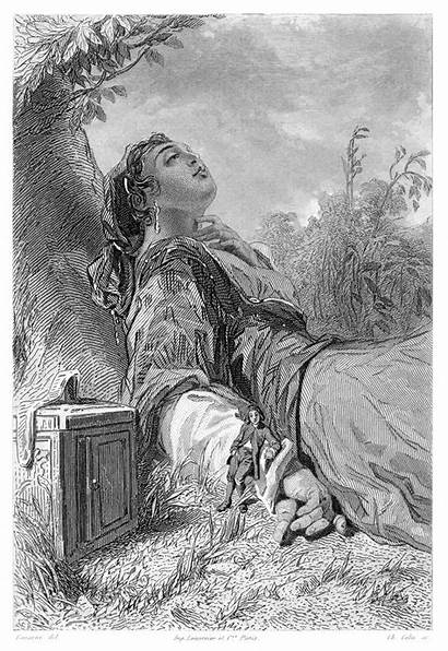 Gulliver Glumdalclitch Illustrations 1600 Px Illustration Scan