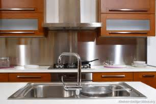 kitchen stainless steel backsplash the most popular kitchen backsplash trends of 2015