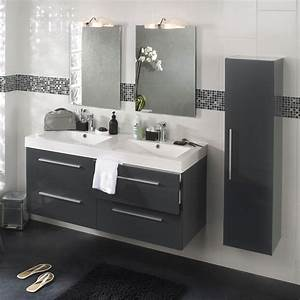 vasque suspendue leroy merlin avec wc lave main integre With meuble salle de bain avec vasque leroy merlin