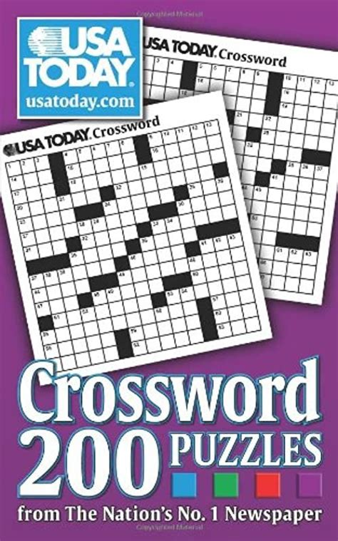 [Read Book] USA TODAY Crossword, 200 Puzzles from The ...