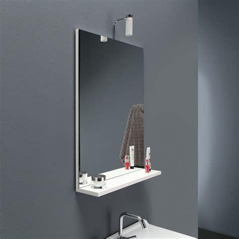 Specchio Bagno Con Mensola E Specchio Bagno Con Mensola Con Mobile Da Bagno 120