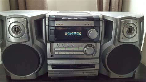 Aiwa Nsx S222 Twin Cassette 3 Disc Cd Player With Aux Home