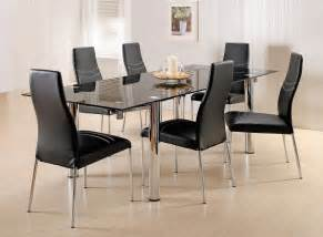 glass dining room sets 7 glass dining room set home furniture design