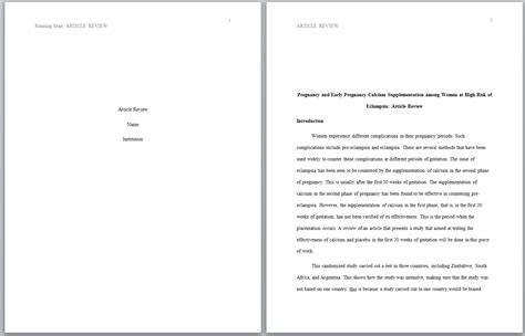 You'll find the following examples and more exclusively on the apa style website: Sample paper formatted in APA style » Inforwriters.com