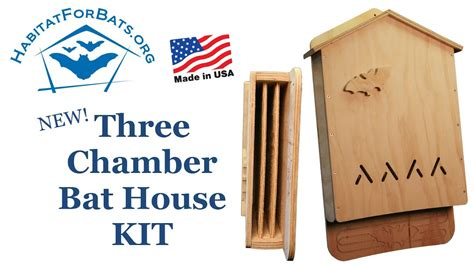 chamber bat house kit introduction youtube