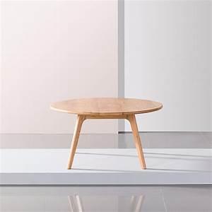 magnus round coffee table solid oak 90cm diameter x With solid oak round coffee table