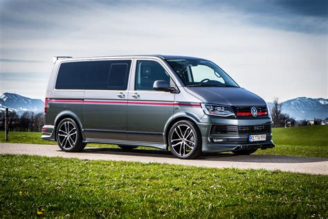 vw t5 t6 abt s vw t6 special blows the candles on two cakes carscoops