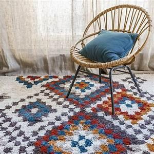Tapis Berbere Laine : 14 id es d co de tapis berb re ~ Teatrodelosmanantiales.com Idées de Décoration