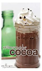 Sugar Bean Bakers: { Cocoa for Ron and You! }
