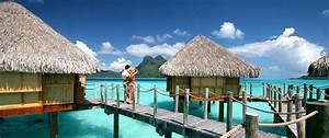 bora bora honeymoons beaches overwater bungalows With tahiti honeymoon packages overwater bungalow