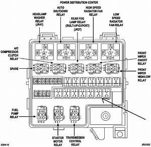 2005 Pacifica Starter Diagram